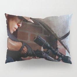 Rosita The Sniper - The Walking Dead Pillow Sham