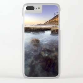 Entering the Tidepools Clear iPhone Case