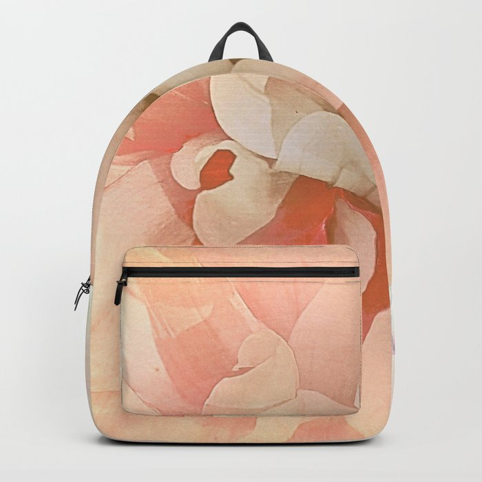Dahlia, Soft Pink Glow Backpack