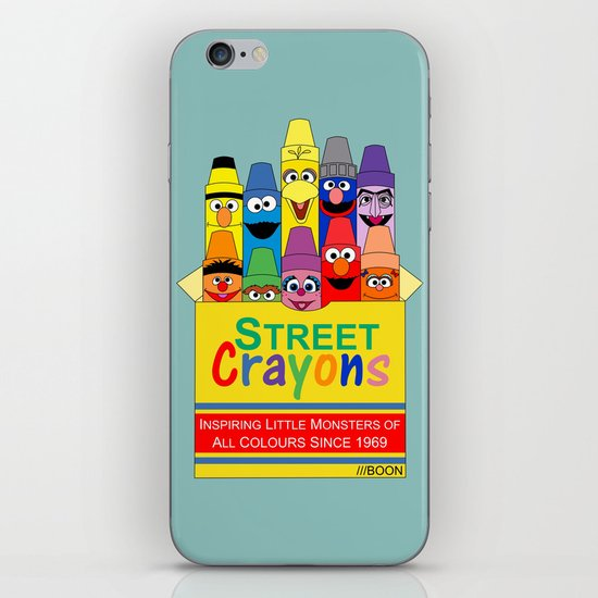 Color Me Sesame iPhone & iPod Skin