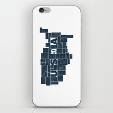 U S of A iPhone & iPod Skin