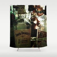 jack Shower Curtains featuring Jack by Taylor Steiner