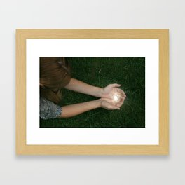 Our Cosmic Connection Framed Art Print
