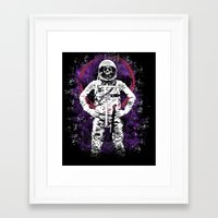 buzz lightyear Framed Art Prints featuring This Ain't No Buzz Lightyear Action Flick by WhotheFisJC
