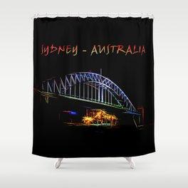 Electrified Sydney Shower Curtain
