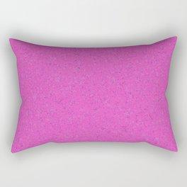 Magenta Abstract Watercolor Rectangular Pillow