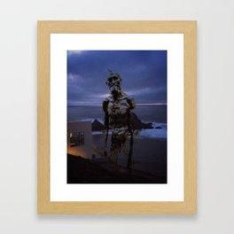 Rodin at Land's End Framed Art Print