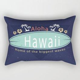 Aloha hawaii Rectangular Pillow