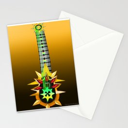 Fusion Keyblade Guitar #126 - Aubade & Omega Weapon Stationery Cards
