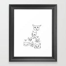Cats Cat Framed Art Print