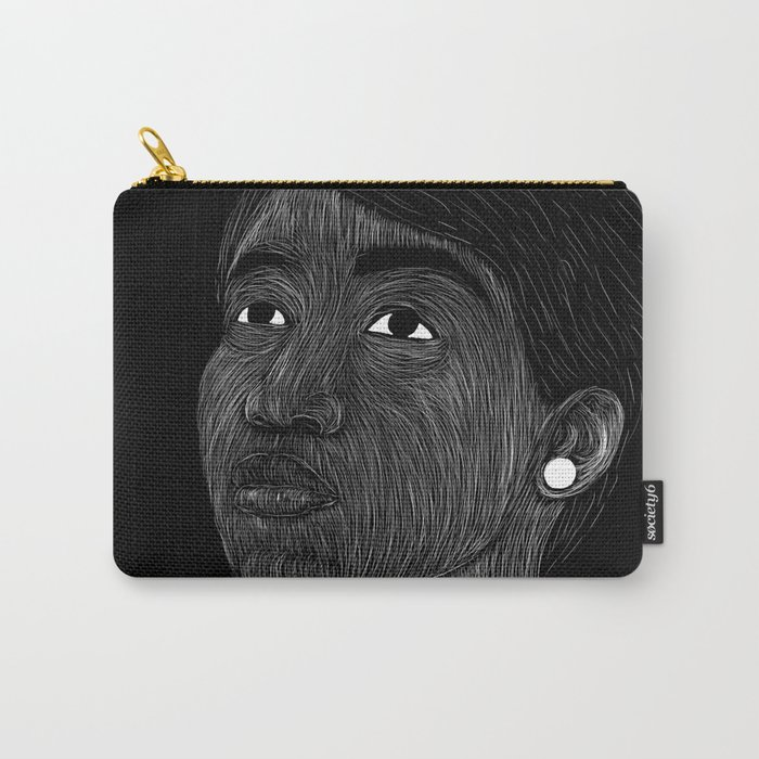 Aretha Franklin Carry-All Pouch