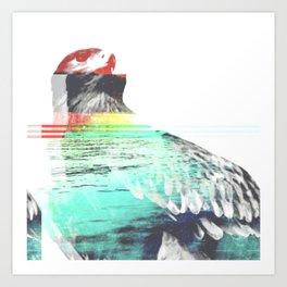 Freedom Among the Layers II Art Print