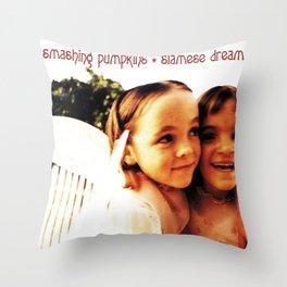 smashing siamese dream 2020 Throw Pillow