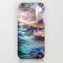 Polluted Delta iPhone Case