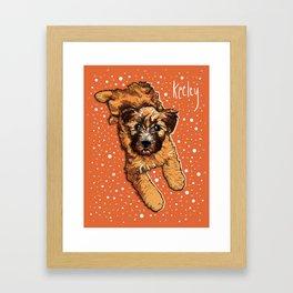 Keeley Print Framed Art Print