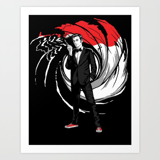 The Doctor 010 Art Print