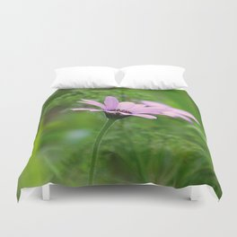 Pink Daisy Photo Duvet Cover