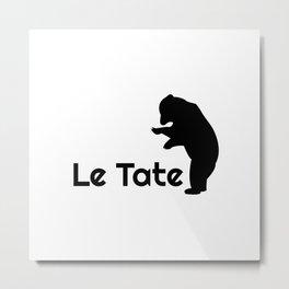 SAVE THE PLANET - LE TATE Metal Print