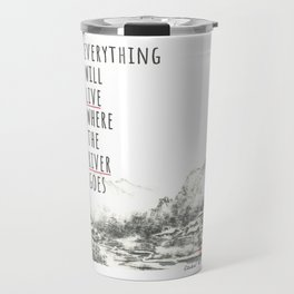 River of Living Water Travel Mug