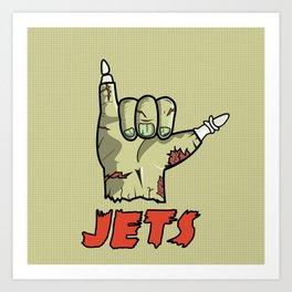 Curren$y Jets Hand Art Print