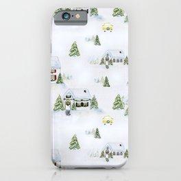 Winter Wonderland Village iPhone Case