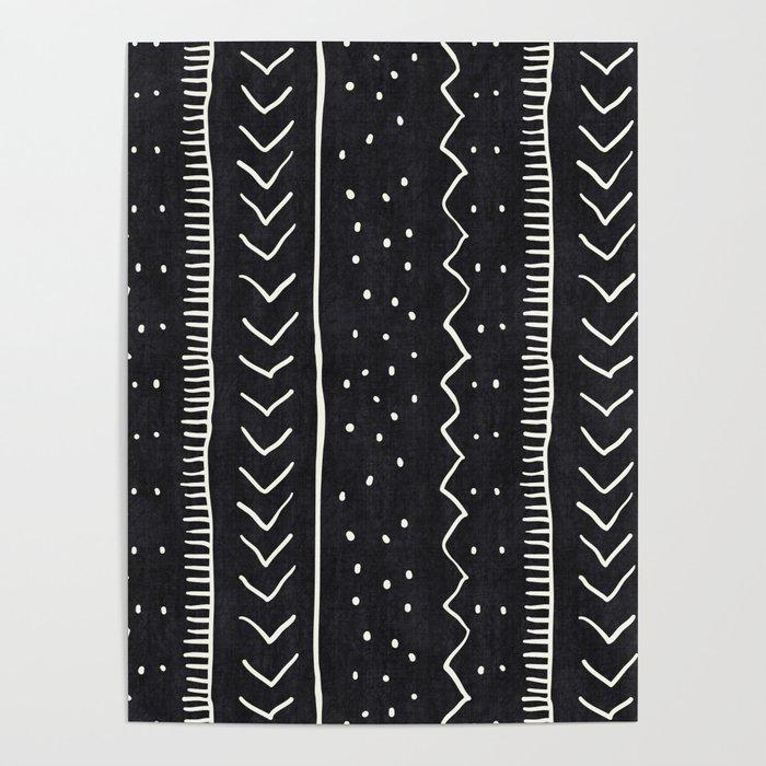 Moroccan Stripe in Black and White