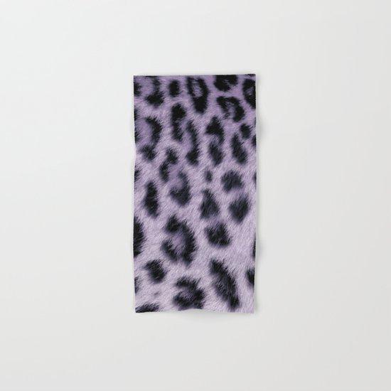 Leopard skin pattern Hand & Bath Towel
