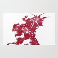 final fantasy Area & Throw Rugs featuring FINAL FANTASY VI by DrakenStuff+