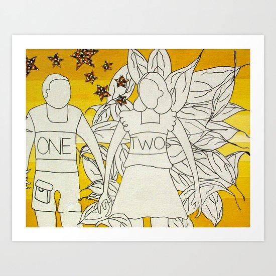 OneTwo Art Print