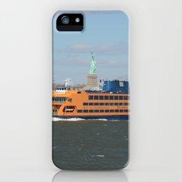 Staten Island Ferry iPhone Case