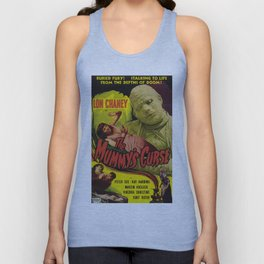 The Mummy's curse, vintage horror movie poster Unisex Tank Top