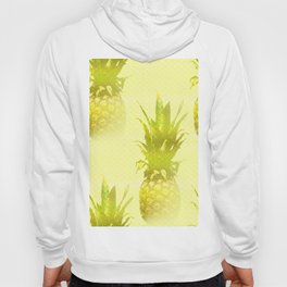Pineapples Yellow Background #decor #society6 Hoody