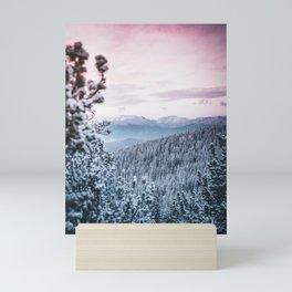 Winter Paradise Mini Art Print