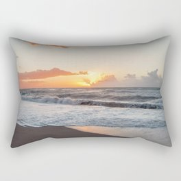 That warmth that remains in your heart after a sunset... Rectangular Pillow