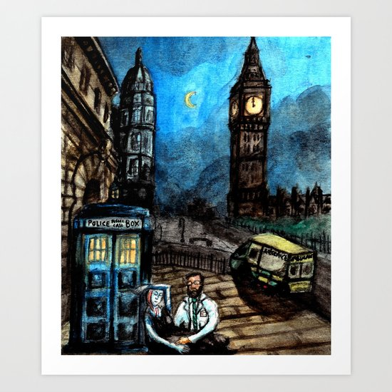 The Doctor is In Art Print