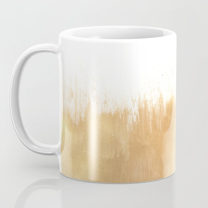 Brushed Gold Coffee Mug