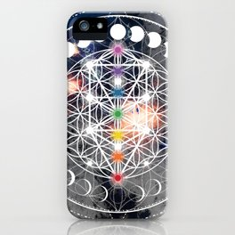 We Are Beings Of Light iPhone Case