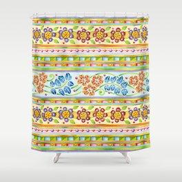 Parterre Botanique Shower Curtain