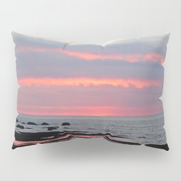 Texture Filled Clouds Pillow Sham