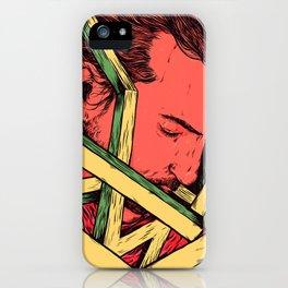 Slip Away iPhone Case