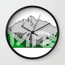 MTB Landscape Wall Clock