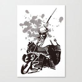 KENSHIN UESUGI Canvas Print