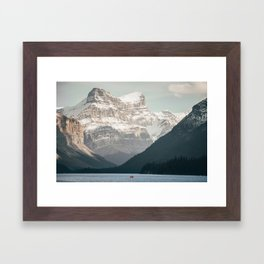 Among the giants. Framed Art Print