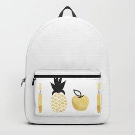 Pen Pineapple apple  Pen Backpack