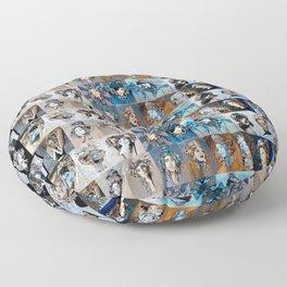 Blues Floor Pillow