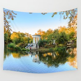 Autumn park Wall Tapestry