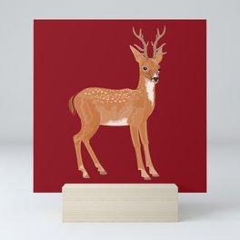 Reindeer Love Mini Art Print