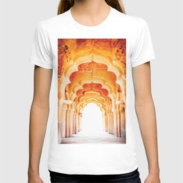 Details of royal Lotus Mahal, Hampi, India T-shirt