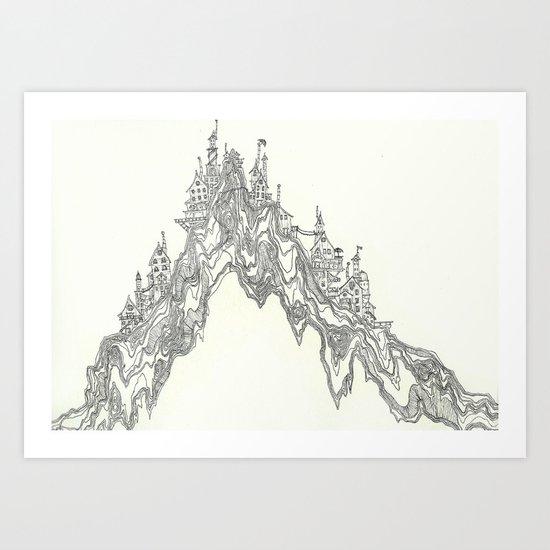 Hill People Art Print