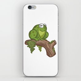 Cartoon Toad iPhone Skin